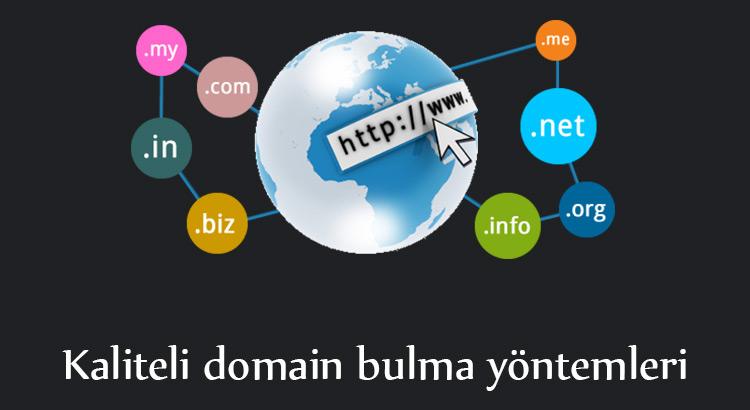 kaliteli domain nasıl bulunur