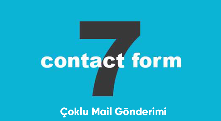 contact form çoklu mail gönderme